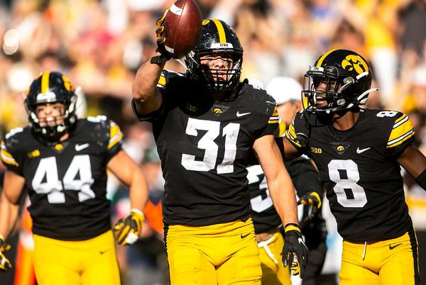 Picture for Leistikow's 5 thoughts: Iowa football's timely offense, dominant Jack Campbell help Hawkeyes survive CSU