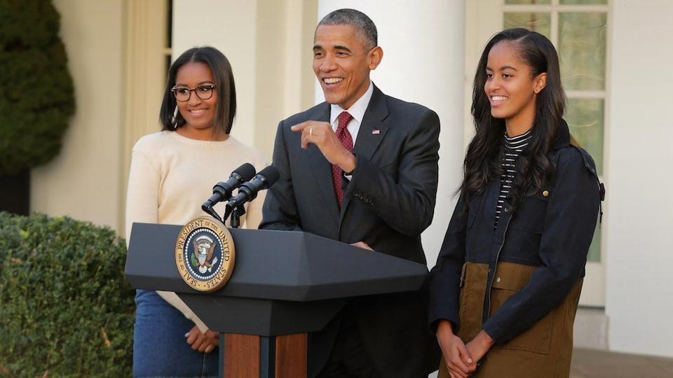 Picture for Michelle Obama shares Father's Day tribute: 'Our daughters couldn't have asked for a better role model'