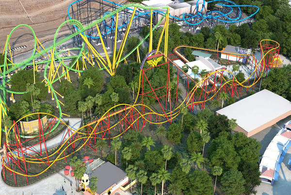 Picture for The World's Tallest and Longest Single-rail Roller Coaster Is Coming to Six Flags Magic Mountain