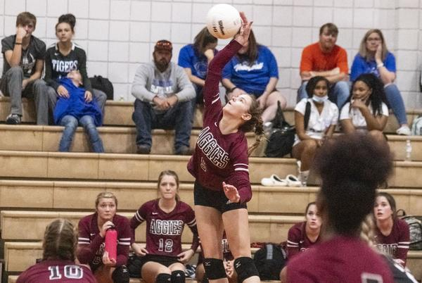 Picture for Sylacauga rallies past Munford to secure volleyball county championship