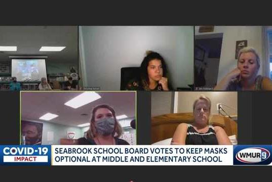 Picture for Seabrook school board votes to continue optional masks at middle and elementary schools