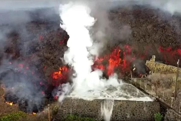 Picture for La Palma update: acid rain is ruled out given the current meteorological conditions