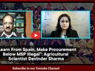 """Picture for """"Learn From Spain, Make Procurement Below MSP Illegal"""": Agricultural Scientist Devinder Sharma"""