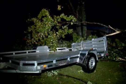 Picture for Severe thunderstorm warning, tornado watch brings damage to the Valley