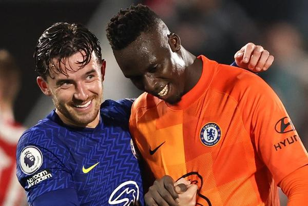 Picture for Chelsea edge past Brentford after Ben Chilwell stunner, Edouard Mendy saves