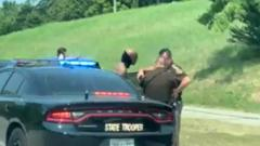 Cover for Man in custody following chase with Oklahoma Highway Patrol