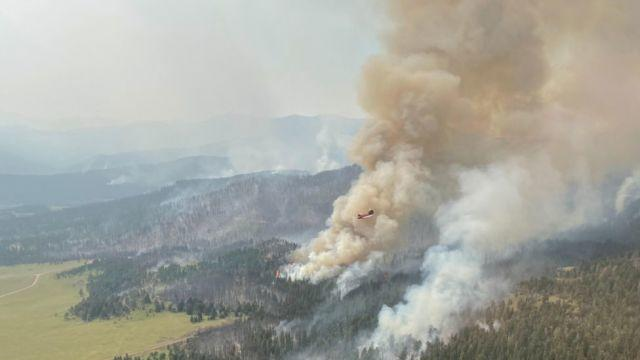 Picture for Type I team takes command of four fires burning in central Montana