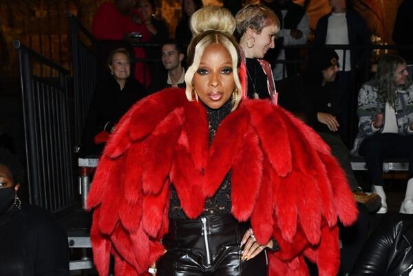 Picture for Mary J. Blige Turns Heads in a $22K Tentacle Coat at Bottega Veneta's Detroit Show
