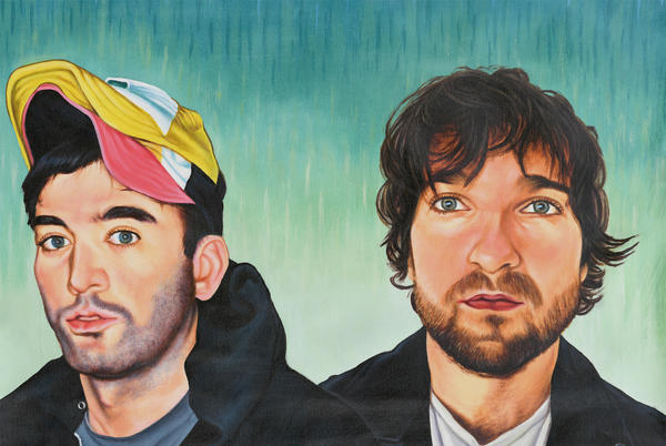 Picture for Sufjan Stevens and Angelo De Augustine on binging horror movies and their new film-inspired album