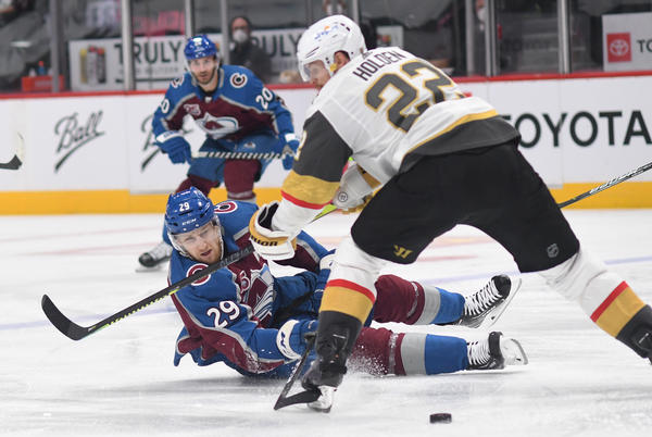 Picture for Kiszla: Avs choking away playoff series against Vegas and biggest gag artist is Nathan MacKinnon