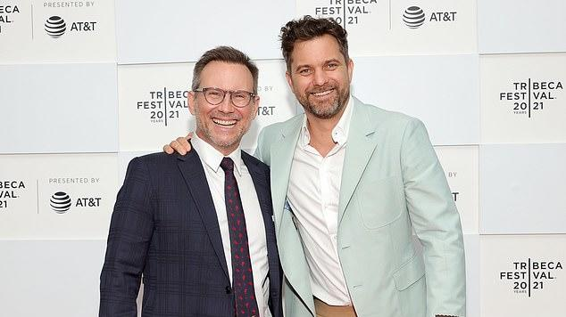 Picture for Christian Slater and Joshua Jackson buddy up at the Tribeca Festival premiere of Dr. Death