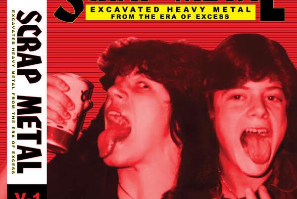 Picture for TVD Radar: Scrap Metal Vol. 1, Rare '80s metal comp, blood splatter vinyl in stores 11/12