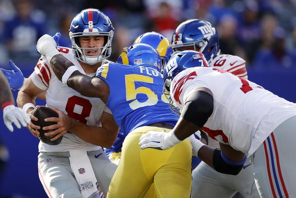 Picture for Post-game quotebook: What the Giants said after humbling loss to Rams