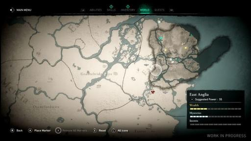 Assassin S Creed Valhalla Map Is Roughly The Same Size As Odyssey