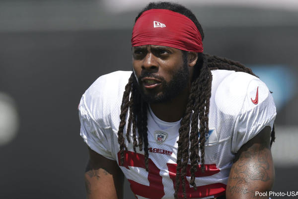 Picture for Richard Sherman savagely roasts Twitter troll over injury crack