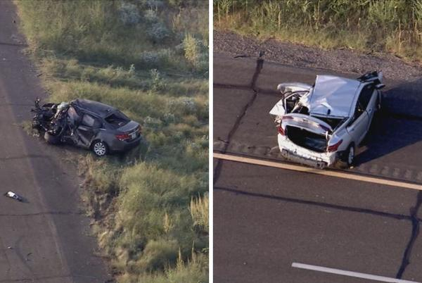 Picture for DPS: 2 dead after wrong-way crash on I-10 near Picacho Peak