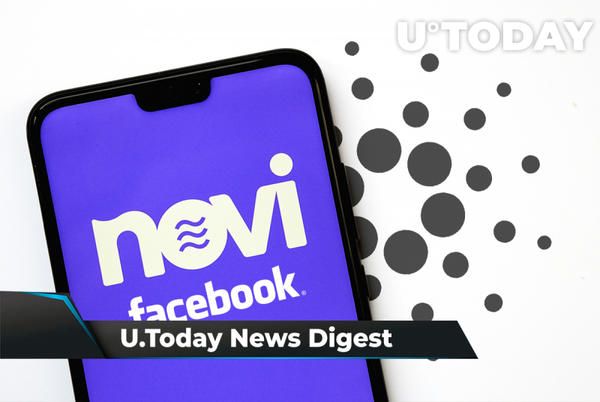 Picture for 10,000 BTC Sell Order Filed on OKEx, Cardano Traders Long Again, Facebook Pilots Its Crypto Wallet: Crypto News Digest by U.Today