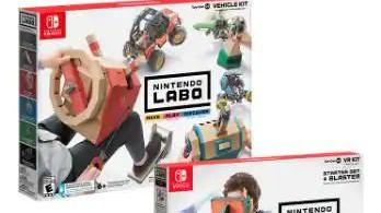 Costco Members Nintendo Labo Vehicle 03 And Vr 04 Bundle Nintendo Switch News Break $499 nintendo switch with zelda: news break