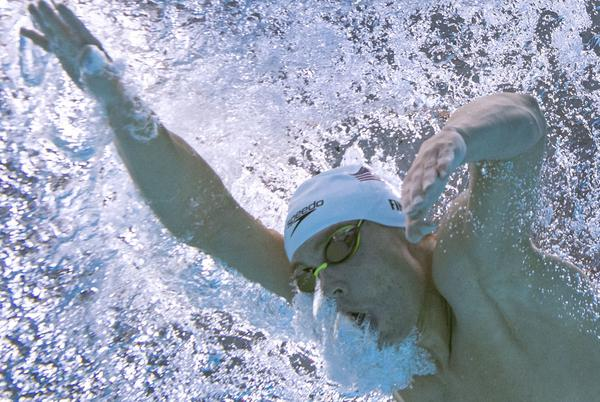 Picture for Bobby Finke wins Olympic gold for U.S. in men's 1,500-meter freestyle