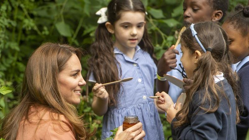 Picture for Kate Middleton has her own beehive just like her little brother James