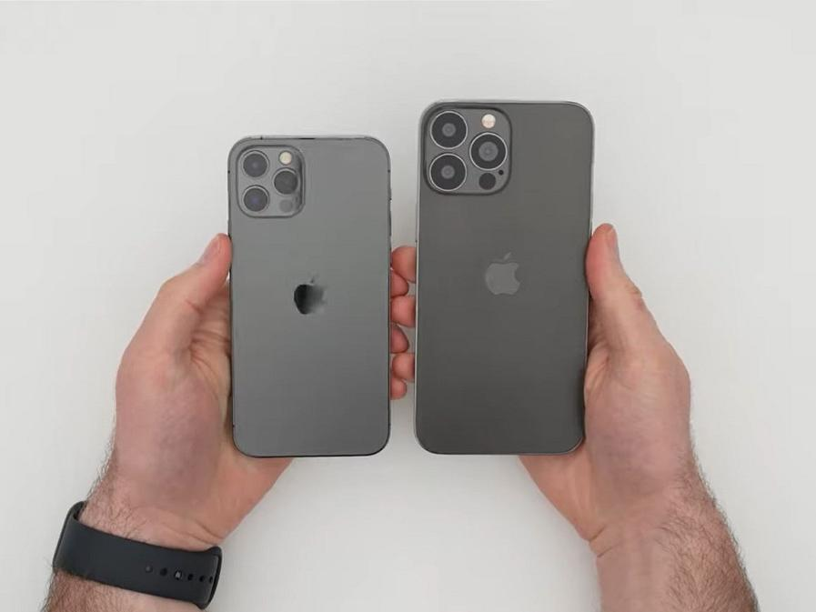 iphone-13-pro-max-dummy-unit-video-shows-smaller-notch-and-ear-speaker-on-top