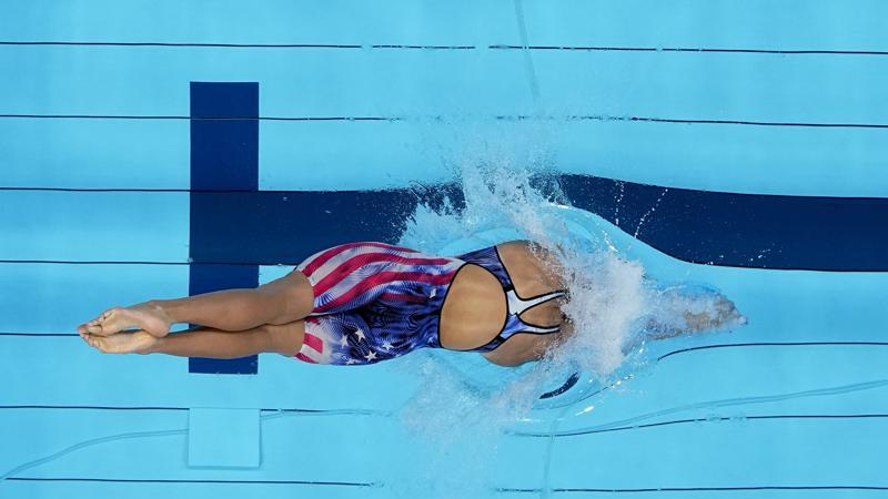 Picture for Olympics Latest: US swimmer Ledecky easily wins 1500m