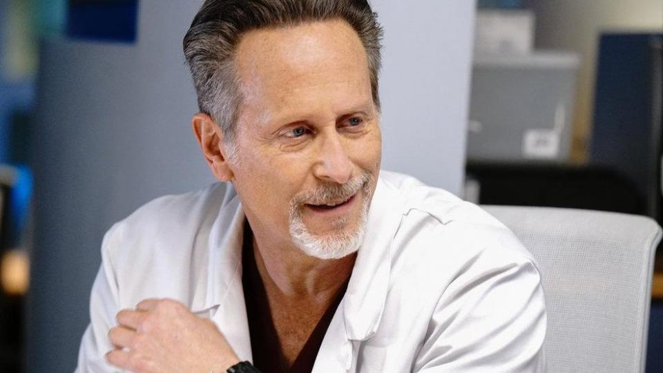 Picture for Steven Weber: Joining 'Chicago Med' is like jumping on a moving train