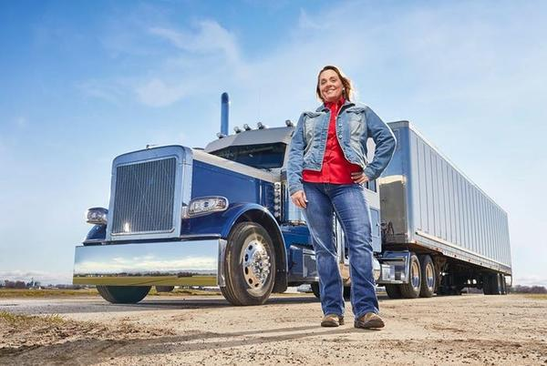 Picture for Meet the female truckers making six-figures driving 80,000 pound vehicles across the country. The industry wants to recruit more of them.