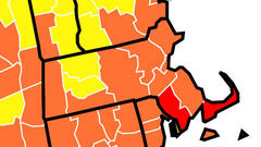 Cover for 11 Massachusetts counties now subject to CDC masking guidance as COVID-19 cases climb