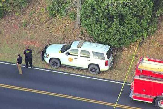 Picture for Authorities investigate after body found in ditch near Edmond