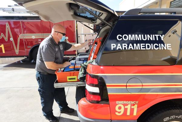 Picture for Marion County's new paramedicine program