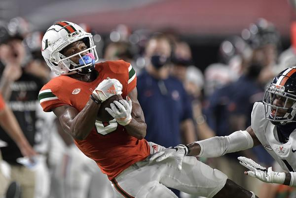 Picture for After Hurricanes' 'you're-in-or-you're-out' bye week, Manny Diaz admits some players 'probably won't' return