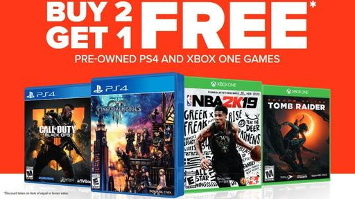 Gamestop Independence Day Sale B2g1 30 Ps4 And Xbox One