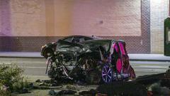 Cover for Speeding driver charged with DWI, manslaughter for Queens crash that killed woman, 10-year-old daughter