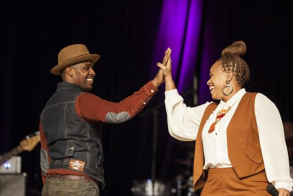 Picture for First Look: Watch Teddy Campbell Convince Tina Campbell To Say Yes All Over Again In 'Marry Me'
