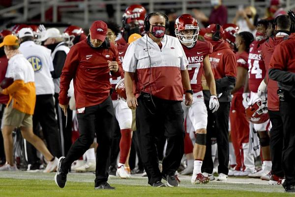 Picture for Could Arkansas' smart hire of Sam Pittman start a trend?