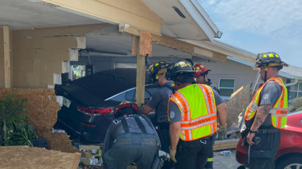 Picture for New Port Richey Home Severely Damaged After Car Crashes Into It