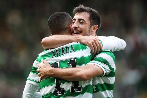 Picture for Josip Juranovic admits he's loving playing at left-back for Celtic