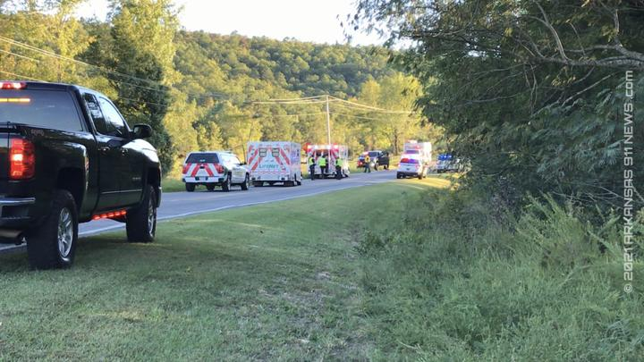 Cover for Car Leaves The Hwy. And Crashes In Field – GARLAND COUNTY