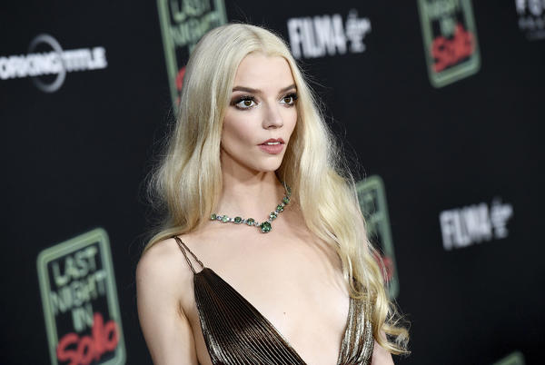 Picture for Anya Taylor-Joy Goes Metallic Gold at 'Last Night in Soho'Premiere