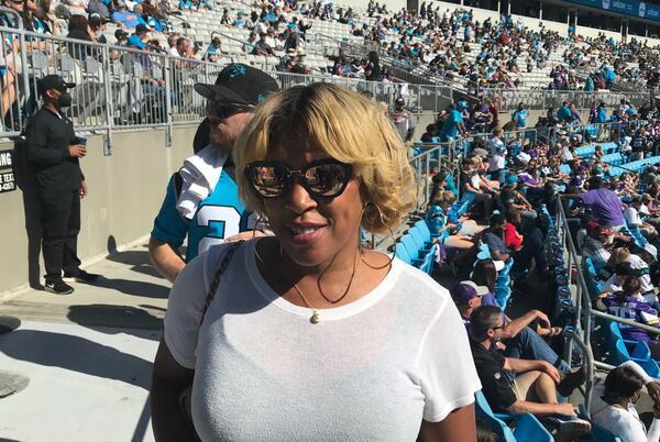 Picture for Twenty years after her husband's death, Kelci Stringer is back at Vikings games