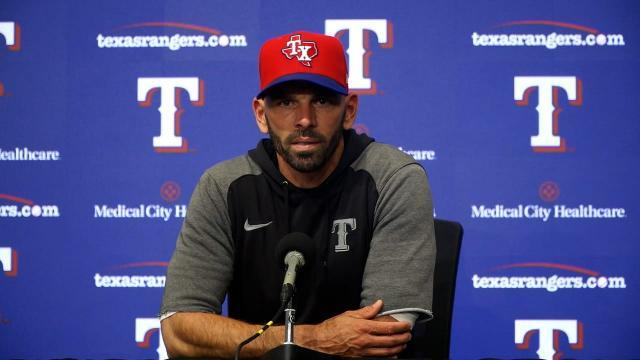 Picture for Texas Rangers | Chris Woodward on loss vs. Twins