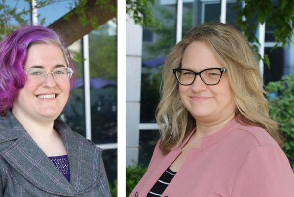 Picture for K-State Salina promotes two staff members