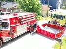 Picture for Tankers at Lapeer County, Michigan House Fire