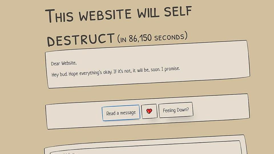 Picture for Self-destructing website is a time capsule of pandemic messages