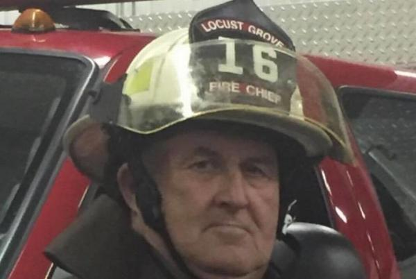 Picture for 'We lost a guardian.' COVID kills Oklahoma fire chief who served for 38 years, mayor says
