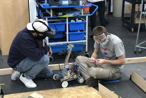 Picture for CLC students show off robotics skills in national competition