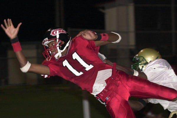 Picture for Dallas Baker, former New Smyrna Beach football star, named wide receivers coach at University of Buffalo