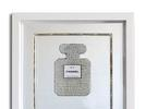 Picture for Chanel Sparkle Diamond – Original Painting/wall Sculpture on mirror