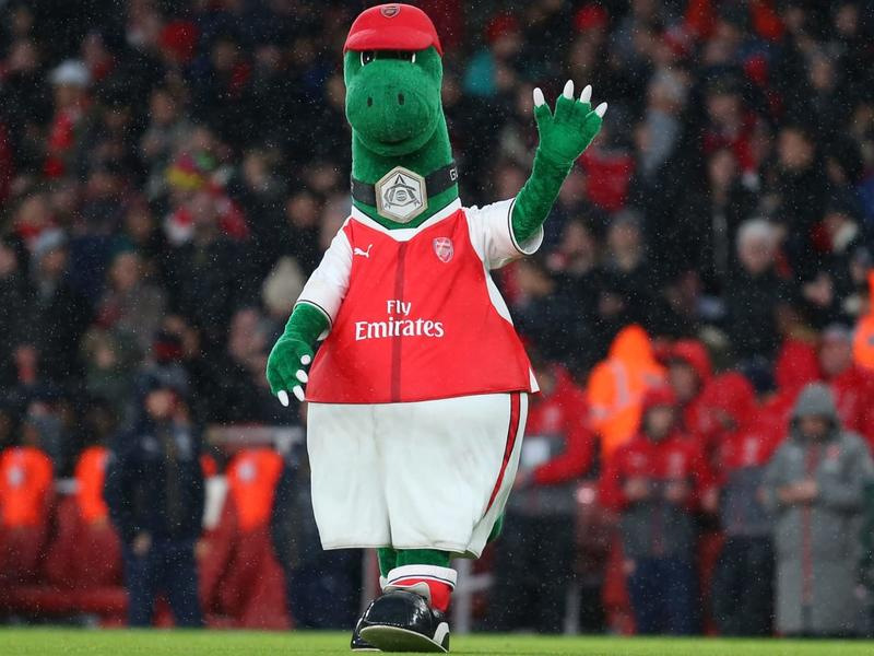 Gunnersaurus A Career In Photos As Beloved Arsenal Mascot Made Redundant News Break